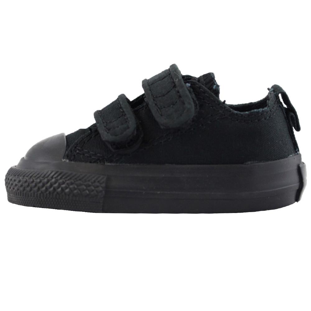 Converse Chuck Taylor All Star 7V606 Infant 3 Strap Black