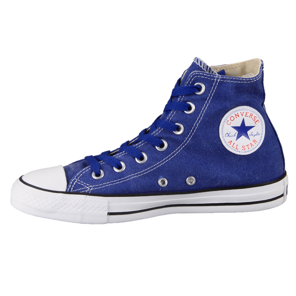 Converse Shoes High Tops Blue