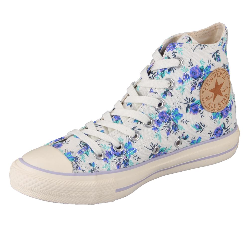 Converse Chuck Taylor 537227C Natural Floral Print HI Top ...