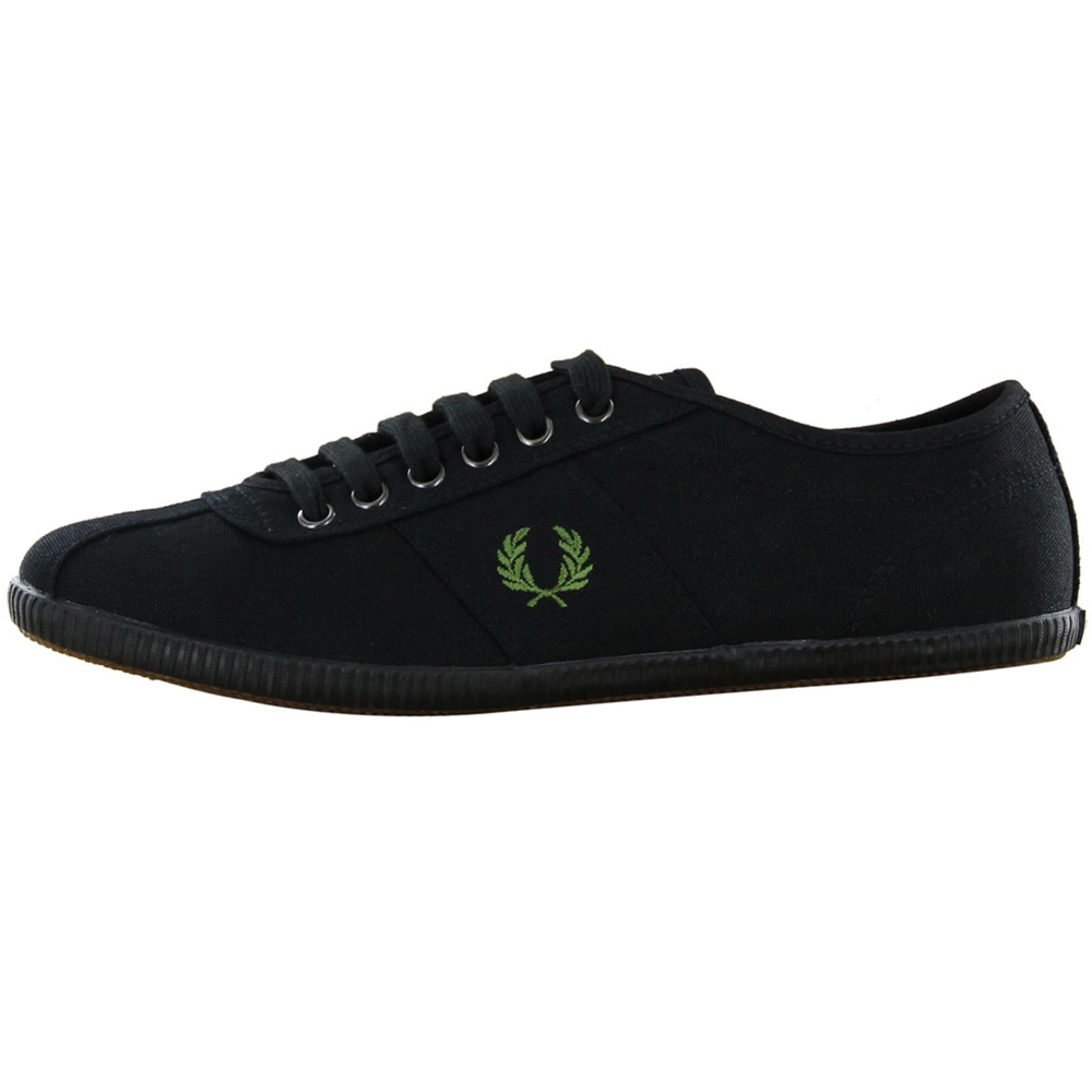 Buy Cheap Fred Perry Hayes Canvas Navy Rosso