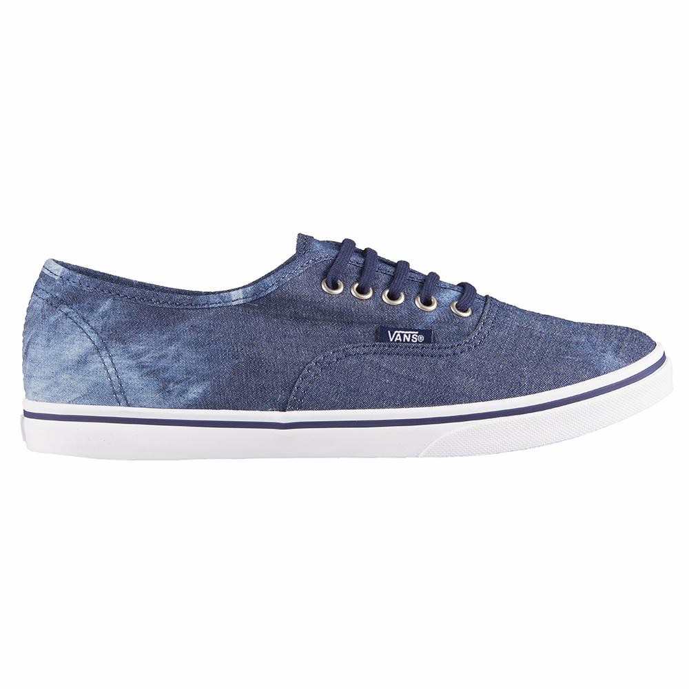 Vans U Authentic LO PRO Washed Denim Shoe
