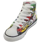 Converse Youth Chuck Taylor DC Comics Canvas Print Batman Shoe